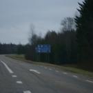 Skręt w lewo na Ruusmäe